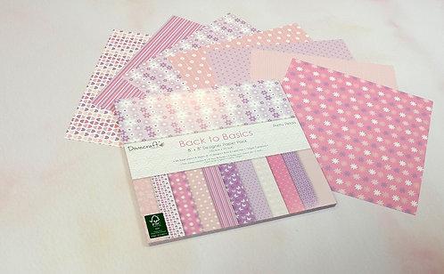 6x6 designer paper pack