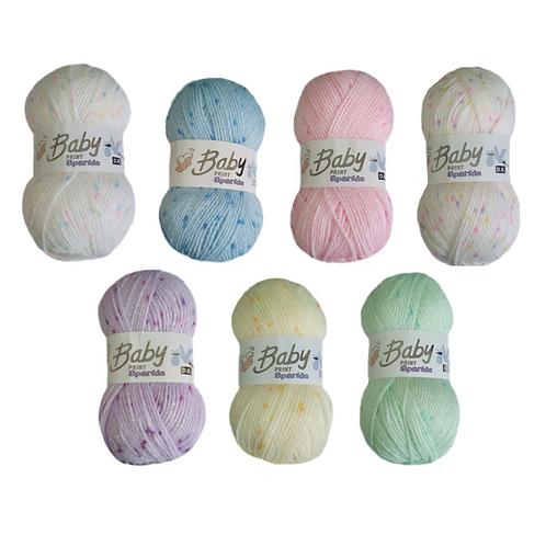 Woolcraft Baby Print Sparkle