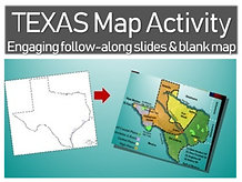 Texas Mapping Activity