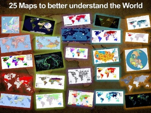 25 Maps to Better Understand the World