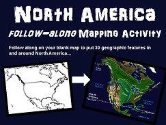 North America Map Activity