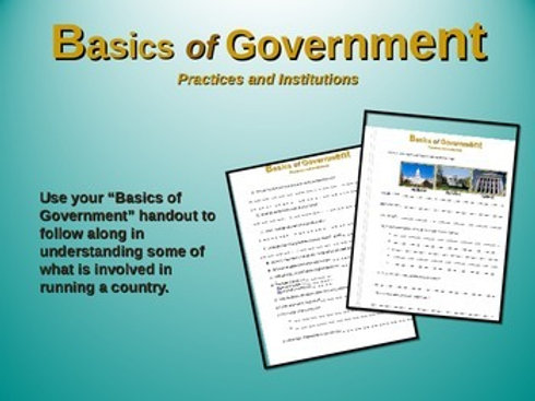 Basics of Government Lesson