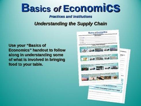 Basics of Economics Lesson