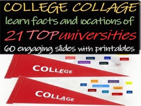 College Collage Activity