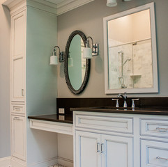 Marble Master Bathroom & Master Closet