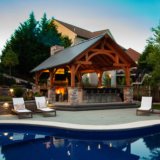 Timber Frame Outdoor Living