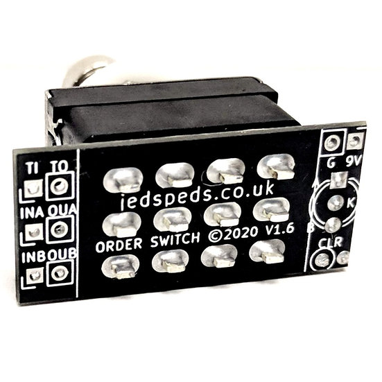 Order Switcher (Foot Switch Version)
