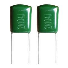 Green Mylar Capacitors