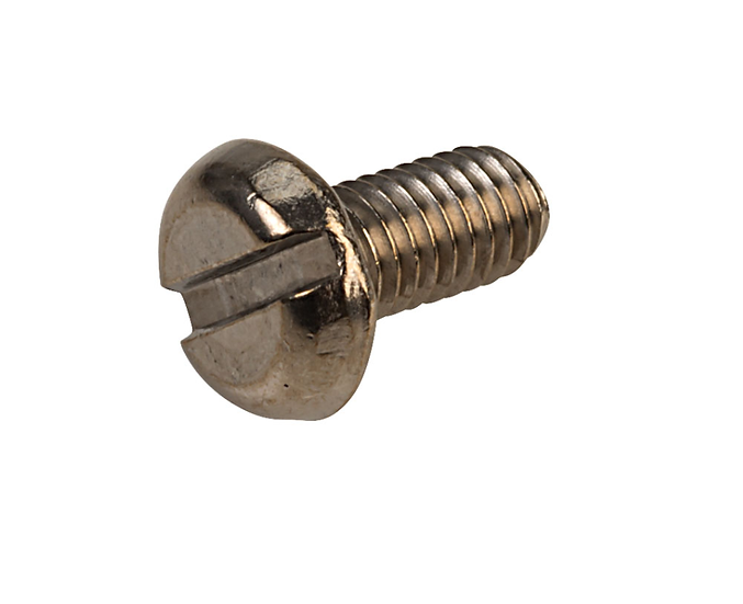 Slotted Pan Head Stainless Steel Screws M3 6m