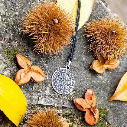 Vegvisir Runes Necklace