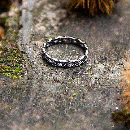 Braid Ring [Black]