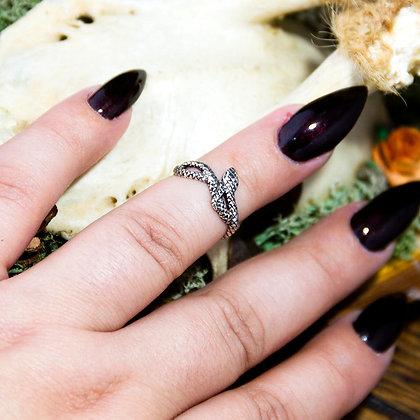 Snake Midi Ring [Silver]
