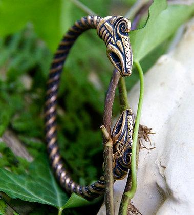 Dreki Torques Bracelet [Bronze]