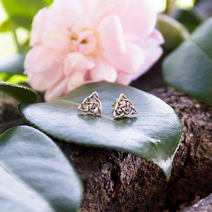 Triqueta Protection Earrings [Silver]