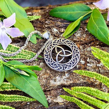 Celtic Triqueta Medallion