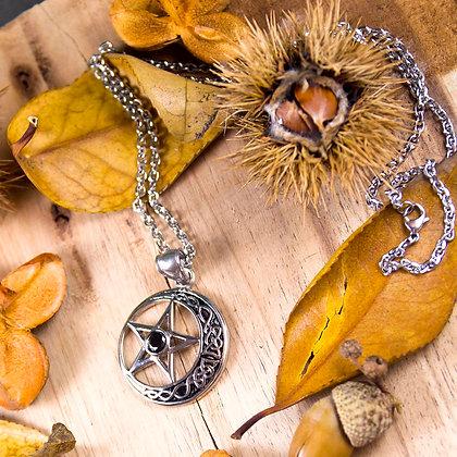 Celtic Moon Pentagram