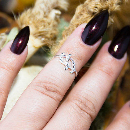 Druid Midi Ring [Silver]