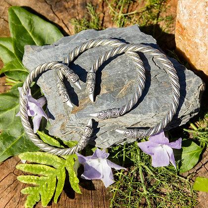 Raven Torques Bracelet