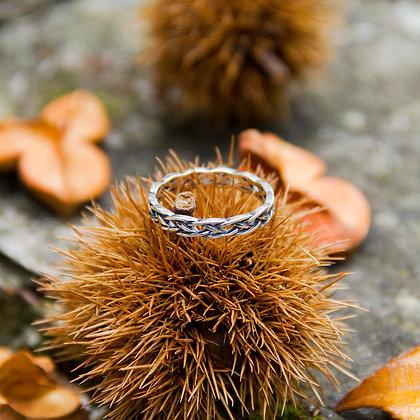 Braid Ring [White]