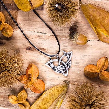 Moon Triqueta Necklace