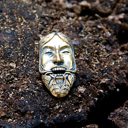 Green Man Pendant [Bronze]