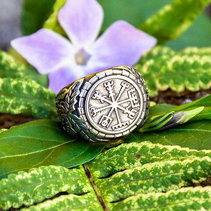 Large Vegvisir Ring