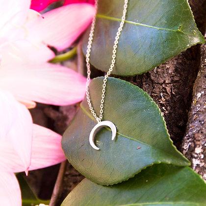 Druid Moon Necklace [Silver]