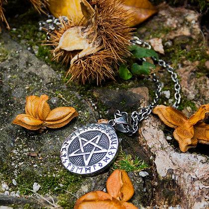 Pentagram Pendant [Steel]