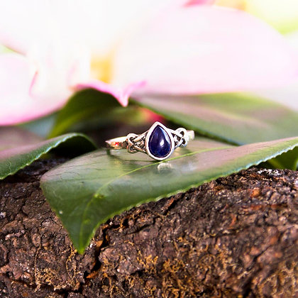 Iduna Lapis Lazuli Ring [Silver]