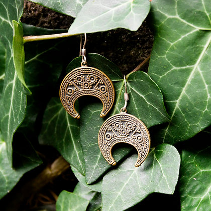 Lunitsa Earrings [Bronze]