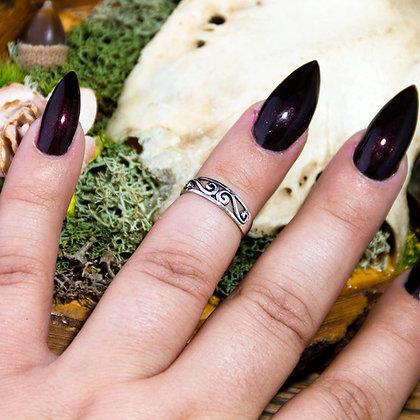 Tiara Midi Ring [Silver]
