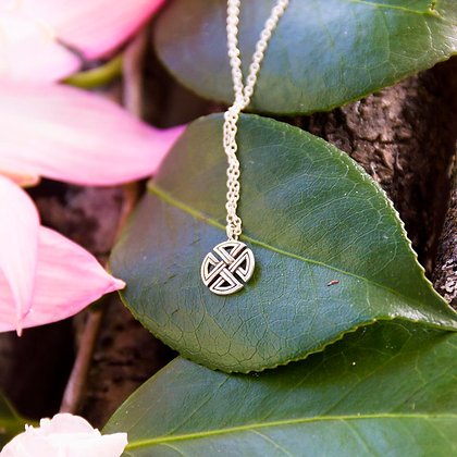 Viking Shield Necklace [Silver]