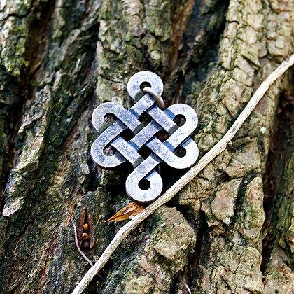 Wrought Iron Knots Pendant