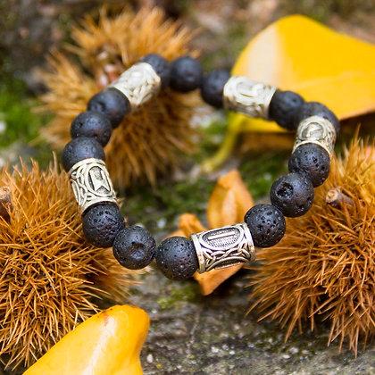 Volcanic Runes Bracelet