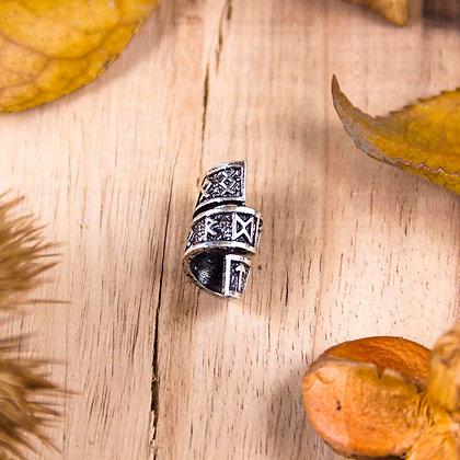 Rune Spiral Bead