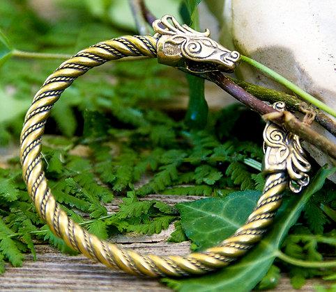Fiona Torques Bracelet [Bronze]