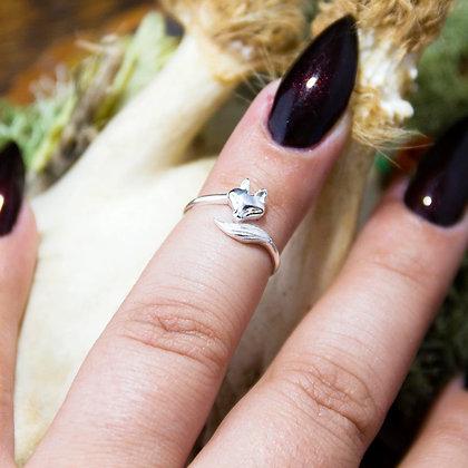 Fox Midi Ring [silver]