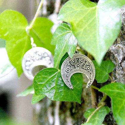 Lunitsa Earrings [Silver]