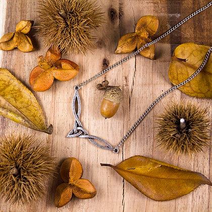 Flying Triqueta Necklace