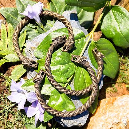 Fenrir Torques Bracelet [Copper]