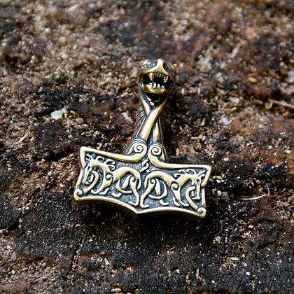 Oseberg Thor's Hammer [Bronze]