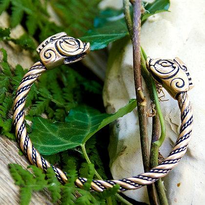 Boar Torques Bracelet [Bronze]