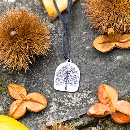 Tree Medallion Pendant