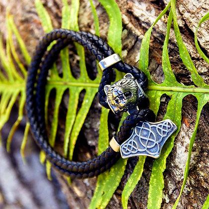 Mjolnir Fenrir Bracelet