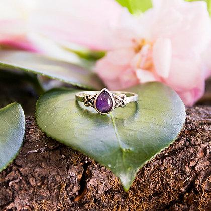 Iduna Amethyst Ring [Silver]