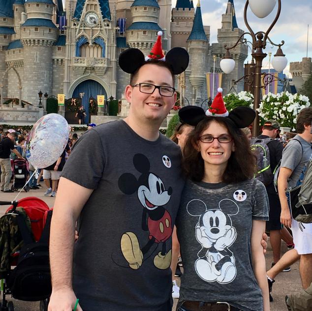 Zach and Keesha Disney World