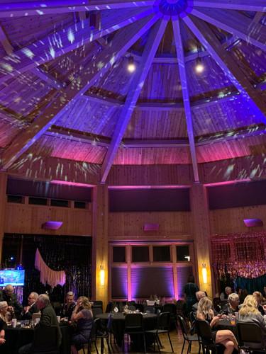 Event Lighting Design Blue Stem Living Room