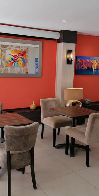 salle détente - petit déjeuner