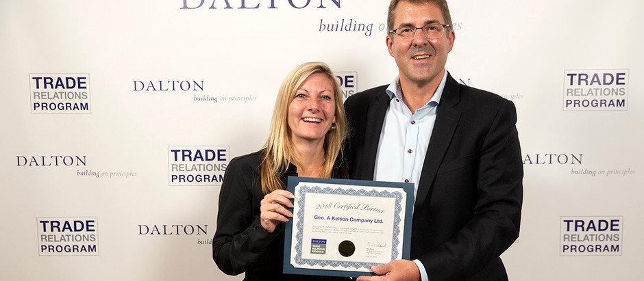 Dalton Recognizes Trade Partners At Awards Event