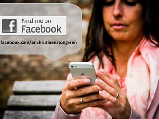 Volg me op mijn nieuwe Facebookpagina